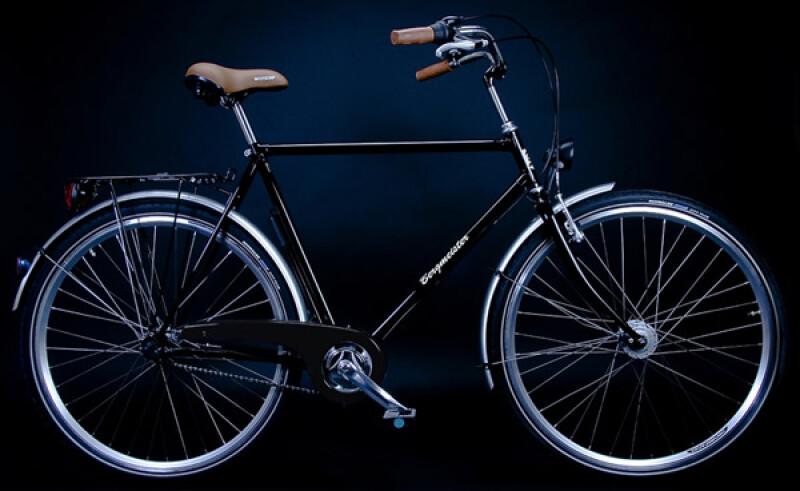 Bergmeister T 3 plus Herren schwarz Citybike