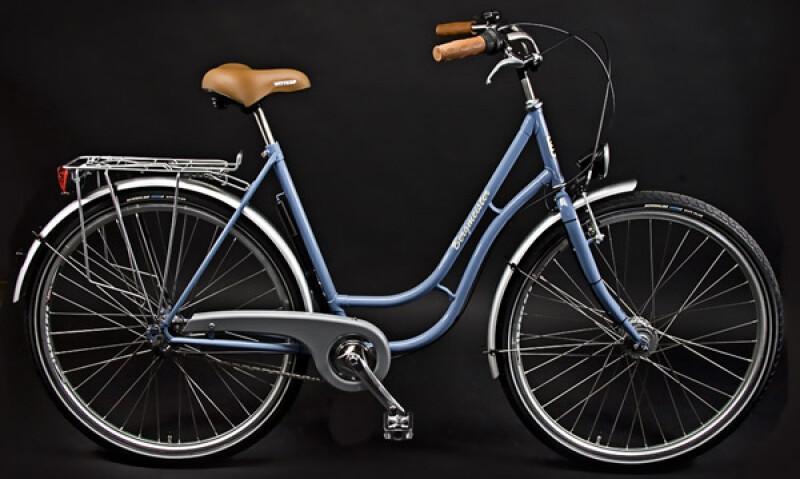Bergmeister T 3 plus Damen blau Citybike