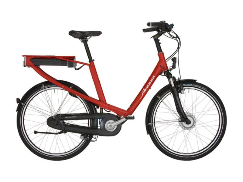 Riese und Müller Avenue Hybrid rot