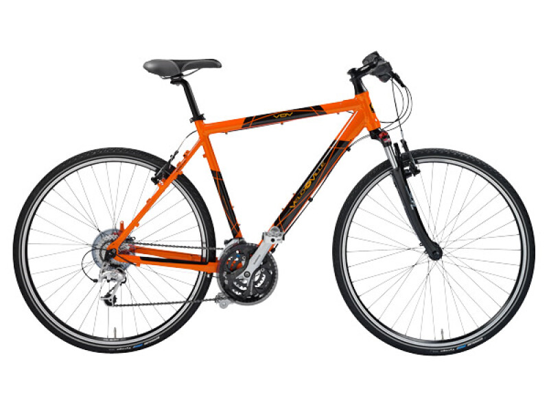 Velo de Ville X 40 Herren Light 27 Gang orange