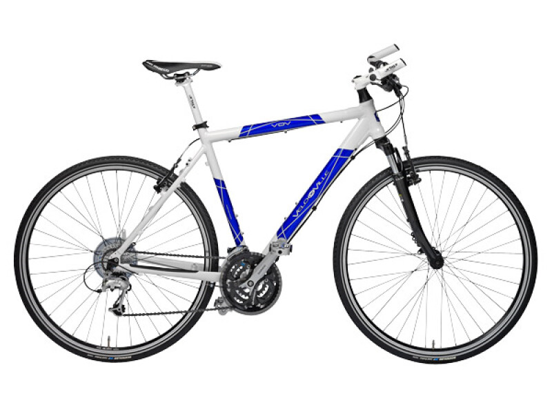 Velo de Ville X Edition Herren Light 24 Gang weiß-blau