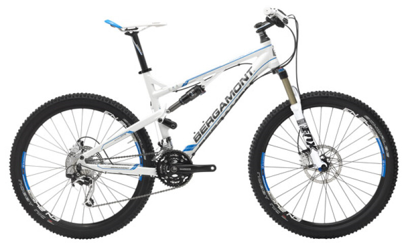 Bergamont Contrail LTD shiny white Mountainbike