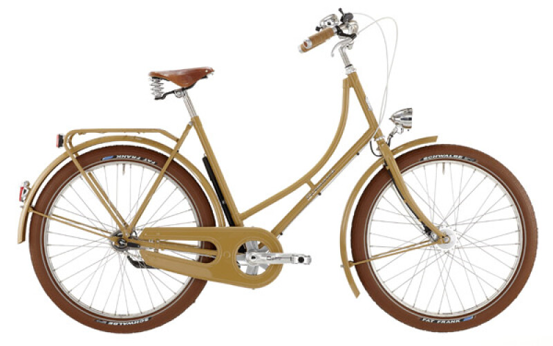 "Bismarck BALLOON 26"" 3-gang SRAM Damen sand Citybike"