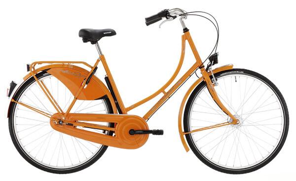 NORDRAD - Nostalgie EINFACH 3-gang SRAM orange