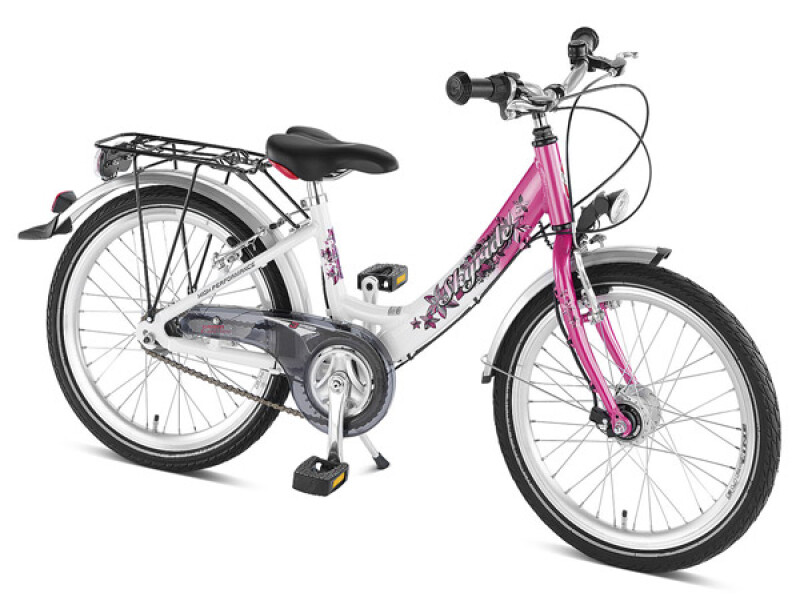 Puky Skyride 20-3 Alu Weiss-Pink