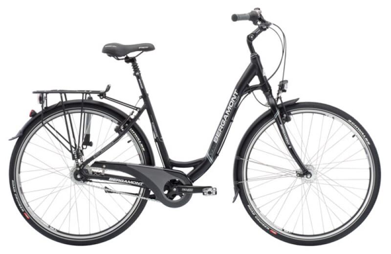 Bergamont Belami Lite N8 rigid black Citybike