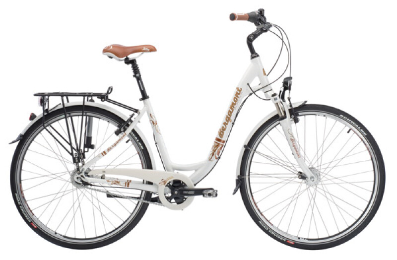 Bergamont Belami Lite N8 susp. white Citybike