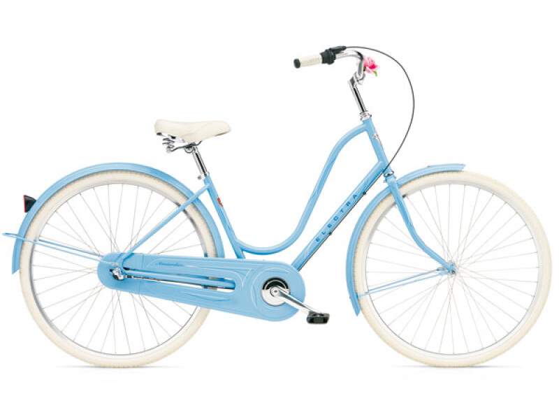 Electra Bicycle Amsterdam Original 3i powder blue ladies'