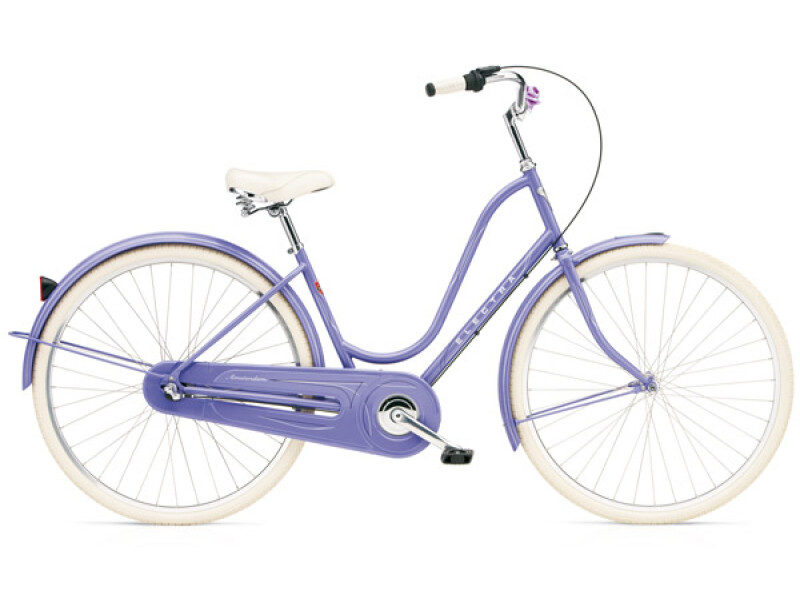 Electra Bicycle Amsterdam Original 3i pale purple ladies'