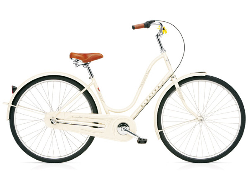 Electra Bicycle Amsterdam Original 3i cream ladies'