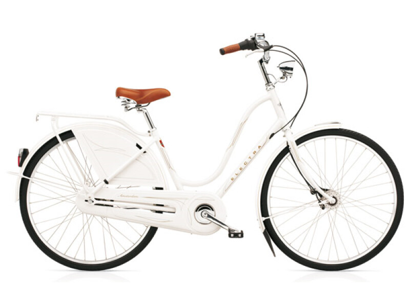 Electra Bicycle Amsterdam Royal 8i pearl white ladies'