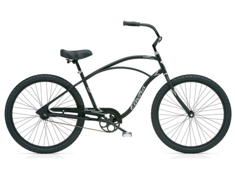 Electra Bicycle Cruiser 1 black satin men's
