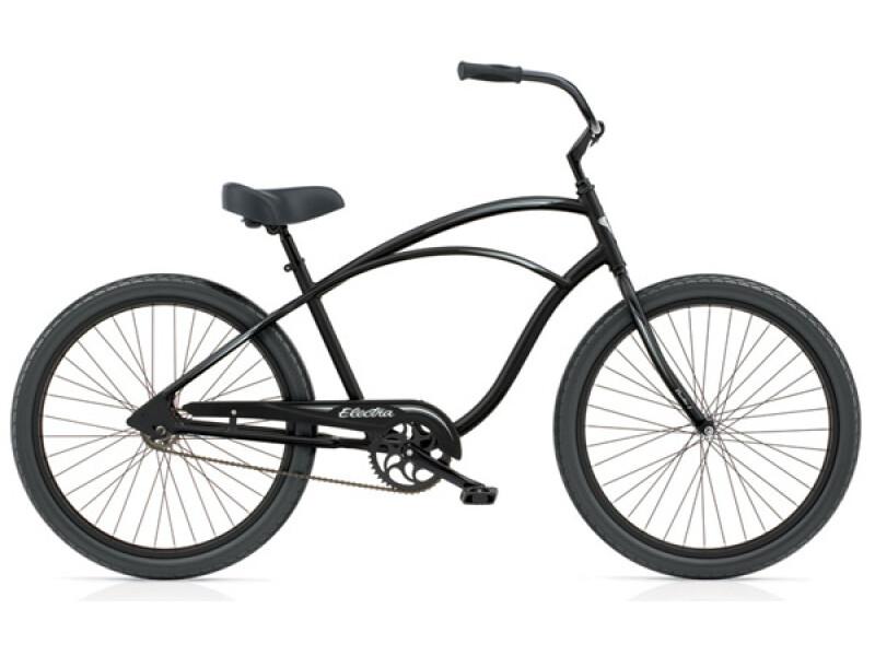 Electra Bicycle Coaster 1 black satin men's