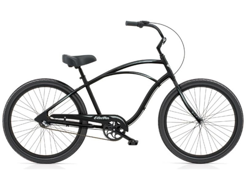 Electra Bicycle Coaster 3i black satin men's