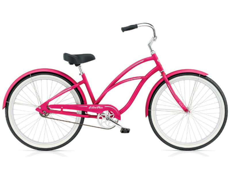 Electra Bicycle Coaster 1 electric pink ladies