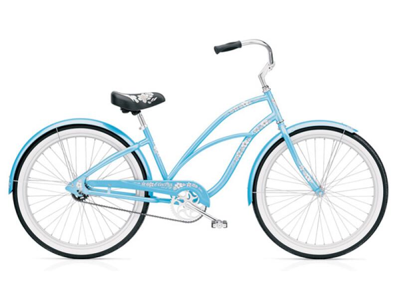 Electra Bicycle Hawaii 3i baby blue ladies'