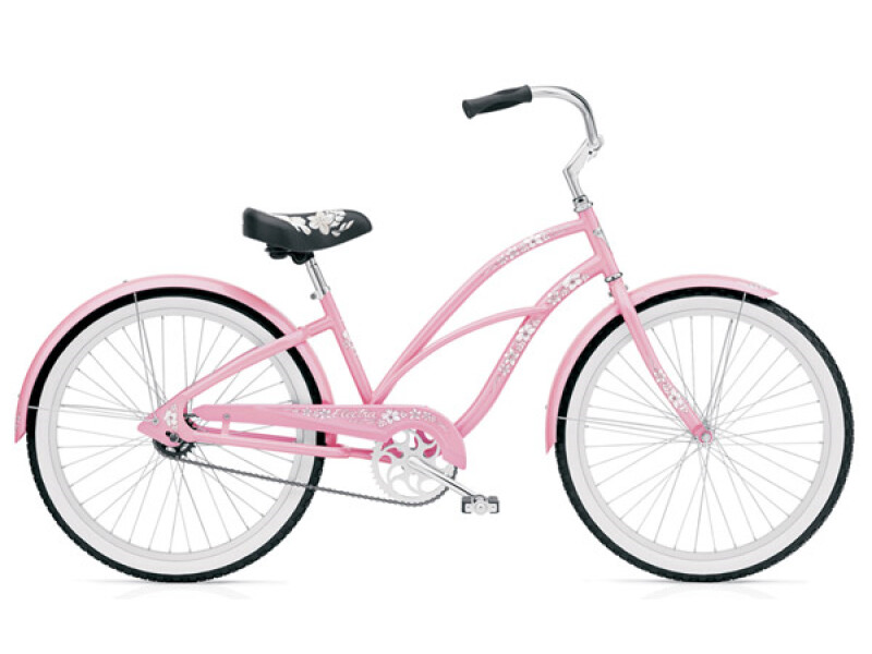 Electra Bicycle Hawaii 3i pink ladies'