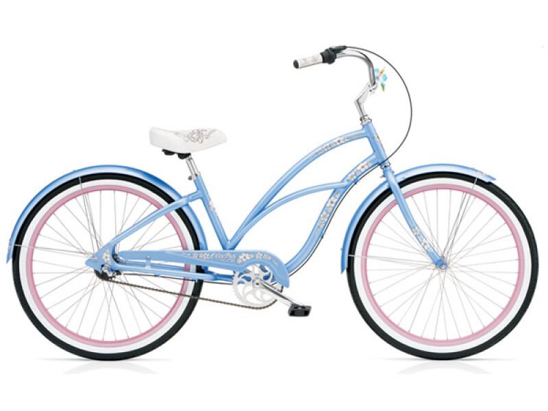 Electra Bicycle Hawaii Custom 3i cornflower ladies'