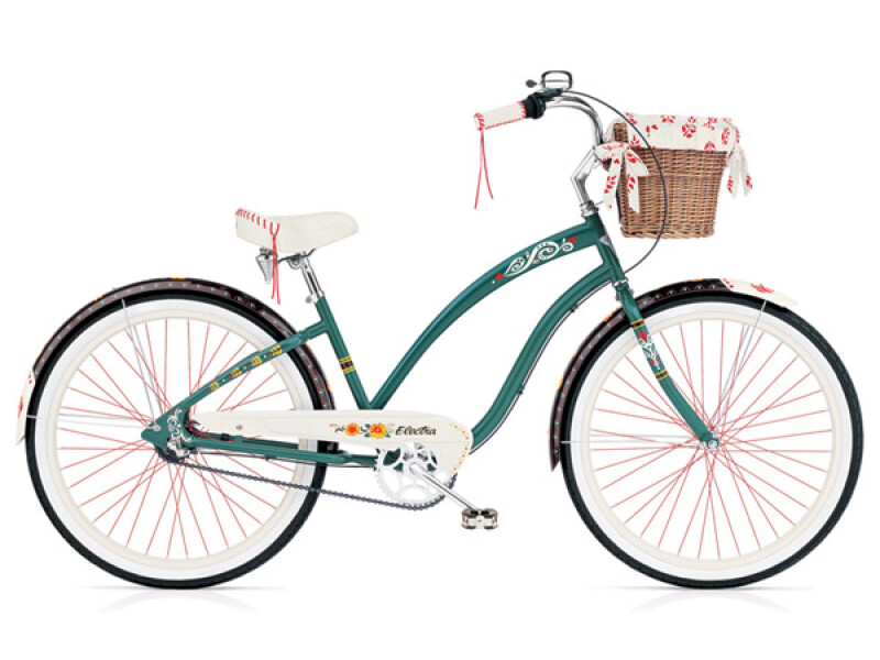 Electra Bicycle Gypsy 3i forest green ladies'