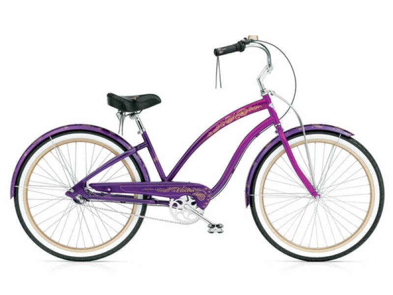 Electra Bicycle Karma 3i purple fade ladies'