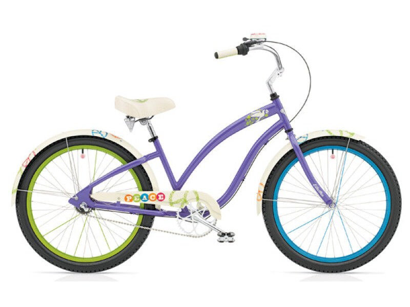 Electra Bicycle Peace 3i purple ladies'