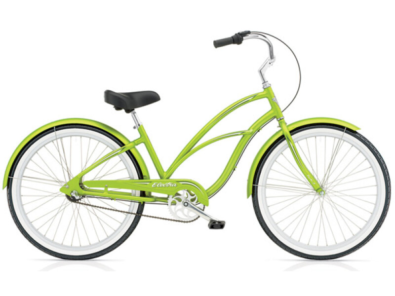 Electra Bicycle Coaster 3i electric green ladies'