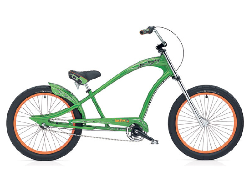 Electra Bicycle Rat Fink 3i metall flake green men's