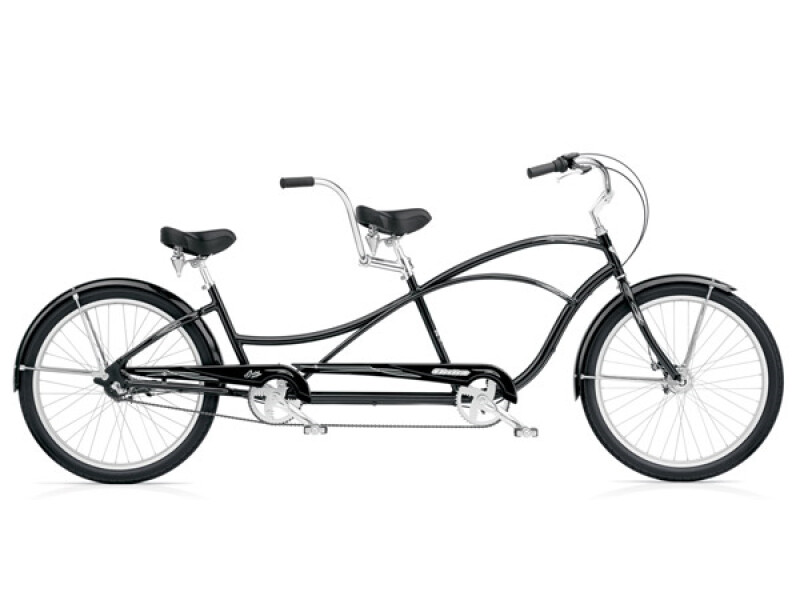 Electra Bicycle Swing Tandem 3i black