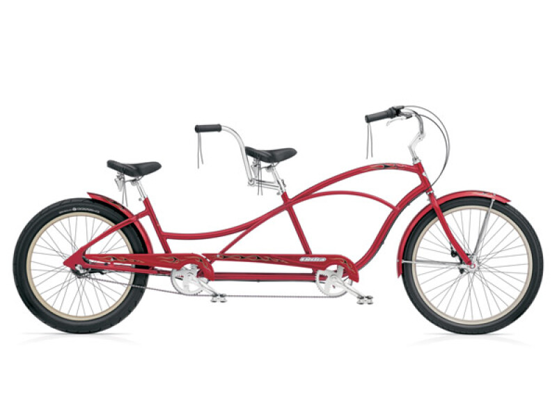 Electra Bicycle Hellbetty Tandem 3i hot red