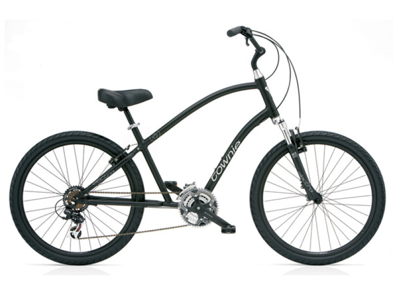 Electra Bicycle Townie Original 21D black men's