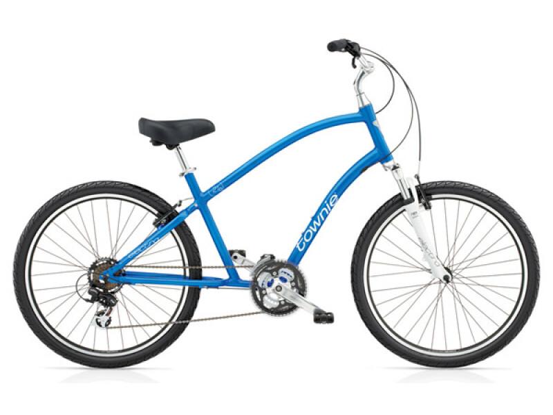 Electra Bicycle Townie Original 21D blue metallic men's