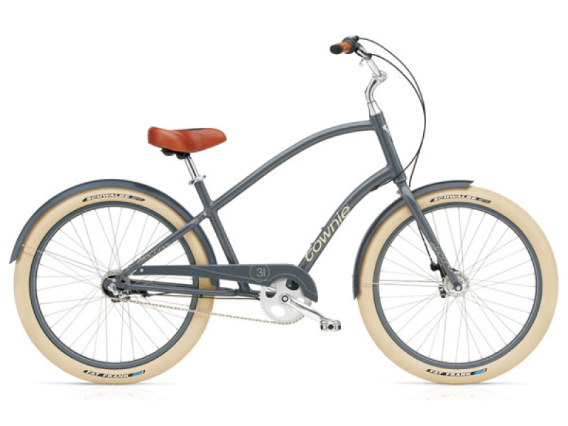 Electra Bicycle Townie Balloon 3i slate men's