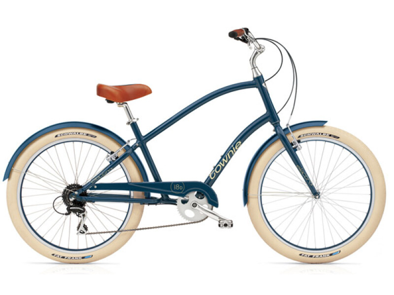 Electra Bicycle Townie Balloon 8D navy men's