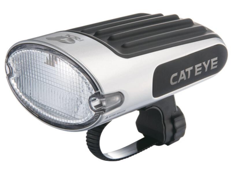 Cateye Frontlampen Single Shot Plus EL 610 RCG