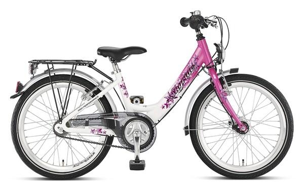 PUKY - Skyride 20-3 Alu weiß/pink
