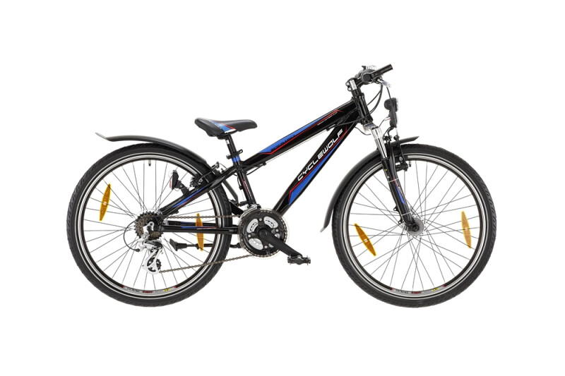 CycleWolf Mescalero S 24 Zoll Diamant Kinder / Jugend