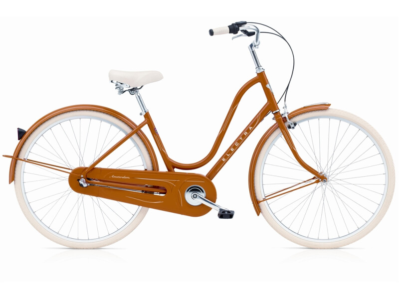 Electra Bicycle Amsterdam Original 3i orange ladies'