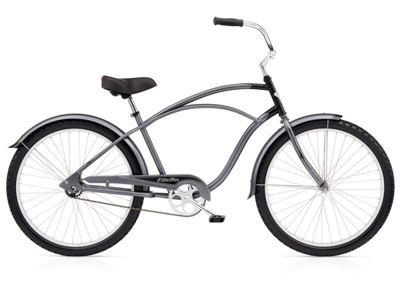 Electra Bicycle Cruiser 1 charoal/black men's