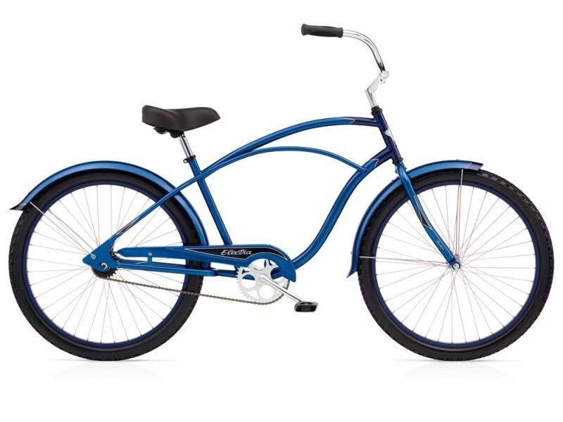 Electra Bicycle Cruiser 1 blue/ dark blue men's