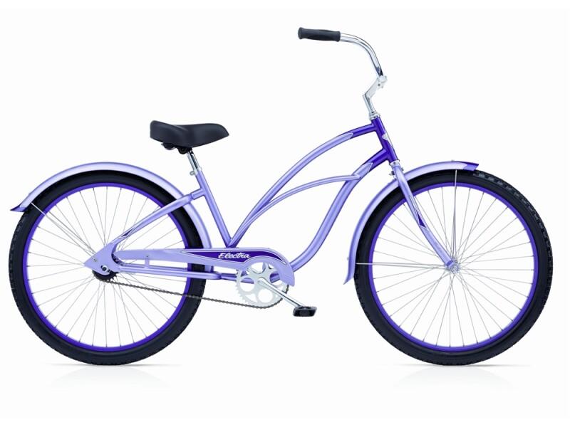 Electra Bicycle Cruiser 1 lavender/ purple ladies'
