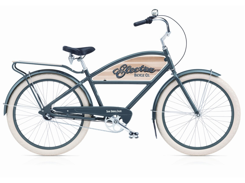 Electra Bicycle Courier 3i grey men's