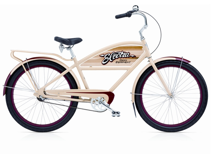 Electra Bicycle Courier 3i khaki/red men's