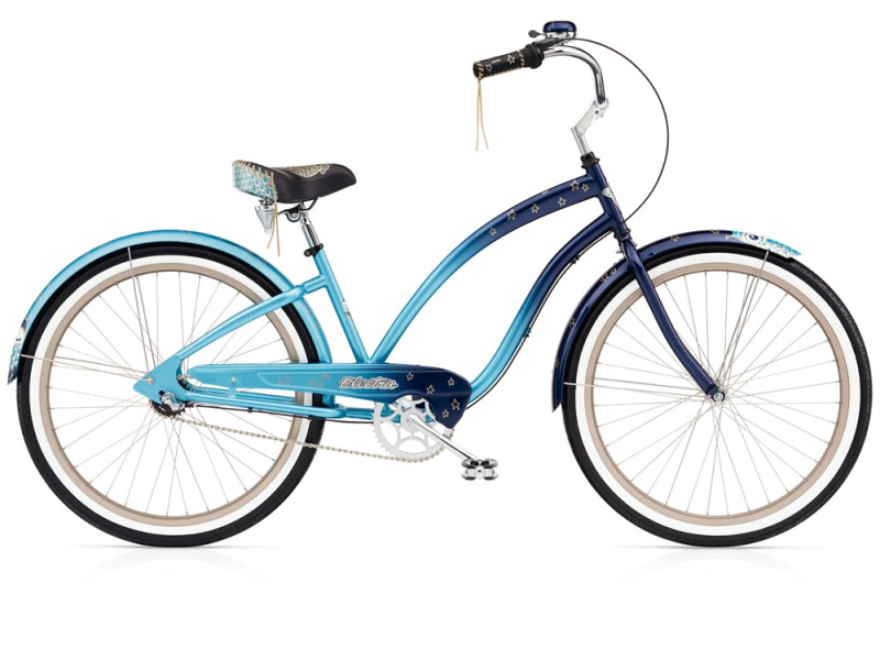 Electra Bicycle Night Owl 3i blue fade ladies'