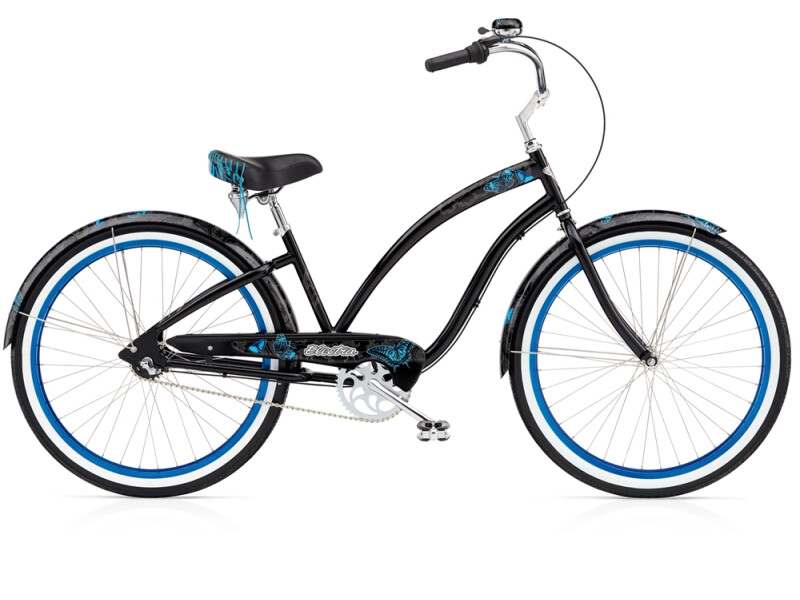 Electra Bicycle Mariposa 3i black ladies'