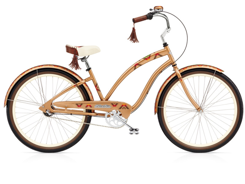 Electra Bicycle Navajo 3i copper ladies'