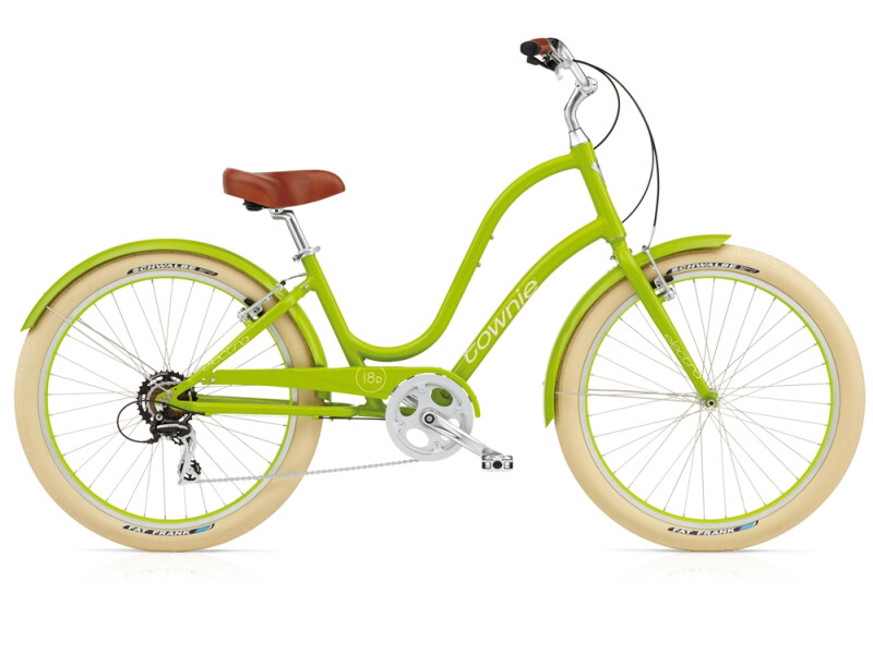 Electra Bicycle Townie Balloon 8D lime ladies'