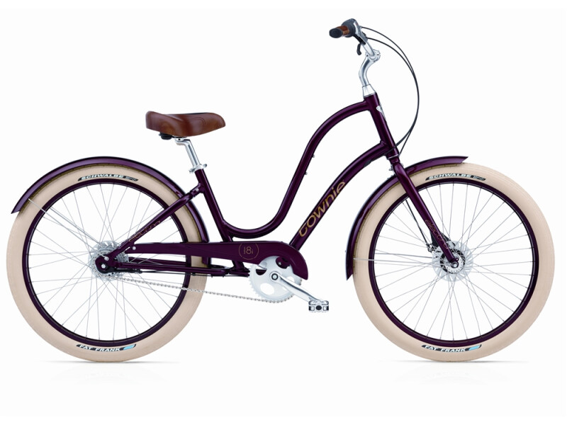 Electra Bicycle Townie Balloon 8i burgundy ladies'