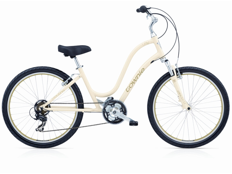 Electra Bicycle Townie Original 21D celery ladies'