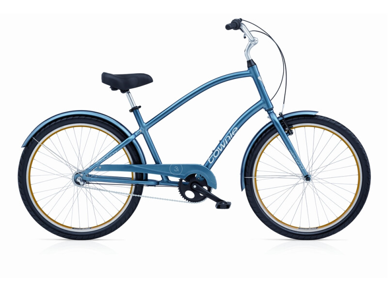 Electra Bicycle Townie Original 3i steel blue men's
