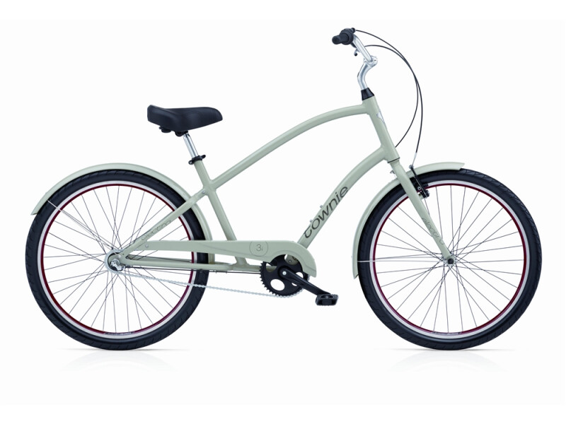 Electra Bicycle Townie Original 3i field grey men's